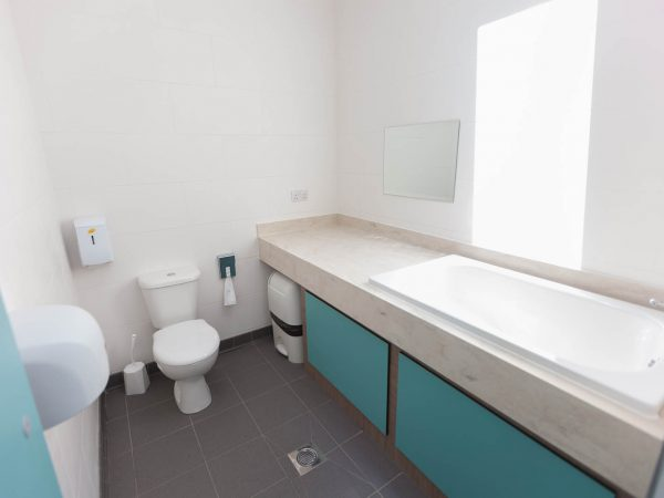 Baby friendly toilets at Polmanter Touring Park St Ives