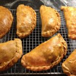 Cornish Pasty at Polmanter St Ives